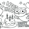 Printable Coloring Birthday Cards Marvelous 18 Elegant Happy Birthday Coloring Pages