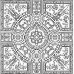 Printable Coloring for Adults Creative Adult Coloring New Mandala Adult Coloring Mandala Enchanting