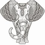 Printable Coloring Pages for Adults Abstract Amazing Beautiful Elephant Zentangle Coloring Pages Nocn