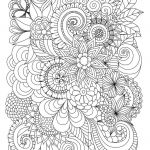 Printable Coloring Pages for Adults Abstract Wonderful Flowers Abstract Coloring Pages Colouring Adult Detailed Advanced