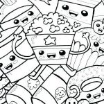 Printable Coloring Pages for Adults Pdf Inspirational Coloring Pages for Kids Disney Line Teens Pdf Junk Food Favorite