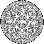 Printable Complex Coloring Pages Exclusive Coloring Flower Coloring Pages for Adults with Print Download