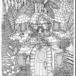 Printable Complex Coloring Pages Marvelous Coloring Books Coloring Pages for Adults Difficult Fairies Places