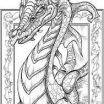 Printable Dragon Coloring Pages for Adults Inspired Image Result for Adult Coloring Quotes Coloring Books