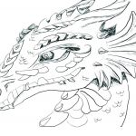 Printable Dragon Coloring Pages Inspirational Baby Dragon Coloring Pages – Ecancerargentina