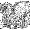 Printable Dragon Coloring Pages Pretty Coloring Page Best solutions Dragon Coloring Book for Adults