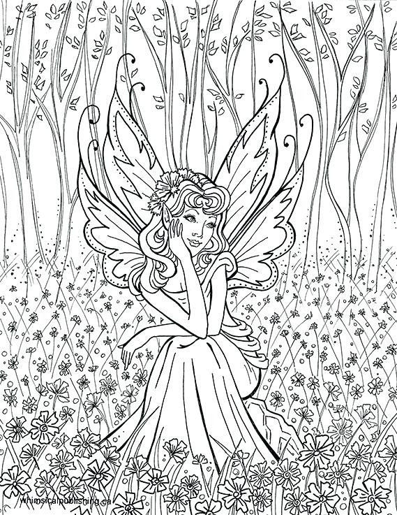 Printable Fairy Coloring Pages Awesome Free Coloring Pages for Adults – Thishouseiscooking