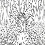 Printable Fairy Coloring Pages Best Of Fresh Fairy and Flower Coloring Pages – Howtobeaweso