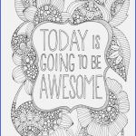 Printable Free Coloring Pages for Adults Unique 12 Cute Coloring Pages with Quotes