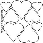 Printable Heart Shape Inspirational Print Out these 6 Sweet and Free Heart Templates
