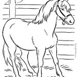 Printable Horse Coloring Pages Fresh Lovely Mom and Baby Horse Coloring Pages – Kursknews