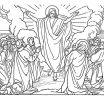 Printable Jesus Coloring Pages Creative Jesus ascension Coloring Page Beautiful Cool Coloring Page Unique