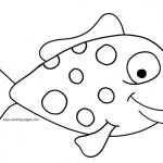 Printable Jesus Coloring Pages Elegant √ Fish Coloring Pages for Adults or Printable Fish Coloring Pages