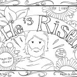 Printable Jesus Coloring Pages Inspirational Coloring Pages He is Risen Coloring Pages Jesus Coloring Pages
