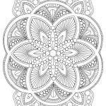Printable Mandalas to Color Elegant Best Easy Flower Mandala Coloring Pages – Doiteasy