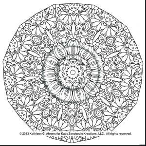 Mandalas to Color Coloring Pages