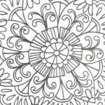 Printable Mandalas to Color Excellent √ Mandala Coloring Books for Kids