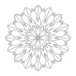 Printable Mandalas to Color Inspired Coloring Mandalas Coloring Pages for Grownups