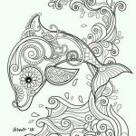 Printable Mandalas to Color Marvelous Elegant Dolphin Mandala Coloring Pages – Tintuc247