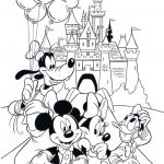 Printable Mickey Mouse Pictures Fresh Best Cute Mickey and Minnie Coloring Pages – C Trade