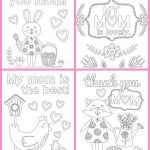 Printable Mothers Day Coloring Sheets Creative Coloring Best Mom Mothers Day Coloring Page for Kids Pages