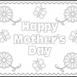 Printable Mothers Day Coloring Sheets Pretty Mother S Day Coloring Page Fun Activities