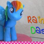 Printable My Little Pony Brilliant How to Make Rainbow Dash My Little Pony Cake topper Figurine Out Of