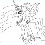 Printable My Little Pony Creative My Little Pony Coloring Page