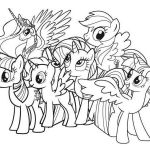 Printable My Little Pony Exclusive 20 Chibi My Little Pony Coloring Pages Traceable Ideas and Designs