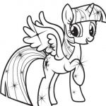 Printable My Little Pony Inspiration My Little Pony Coloring Pages Twilight Sparkle with Wings to Print