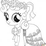 Printable My Little Pony Inspiring My Little Pony Coloring Pages