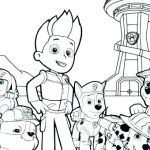 Printable Paw Patrol Coloring Pages Excellent Free Paw Patrol Coloring Pages New Christmas Printables Coloring