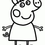 Printable Peppa Pig Beautiful Lovely Peppa Pig Car Coloring Pages – Howtobeaweso