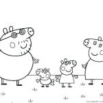 Printable Peppa Pig Brilliant Free Printable Pig Colouring Pages to Print Coloring and