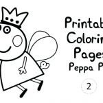 Printable Peppa Pig Creative Printable Pig Craft Color Pages Coloring Page Size Playing