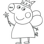 Printable Peppa Pig Excellent Pig Template Printable Peppa Mask Coloring Page Sheet Pages Print