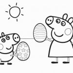 Printable Peppa Pig Inspiring Lovely Coloring Pages Peppa Pig Fvgiment