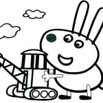 Printable Peppa Pig Marvelous Marvelous Coloring Pages Pig to Print Picolour