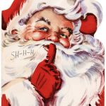 Printable Picture Of Santa Claus Brilliant these Vintage Christmas Cards Would Be so Cute to Print Off and Make