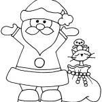 Printable Picture Of Santa Claus Excellent 30 Santa Claus Coloring Pages Gallery Coloring Sheets