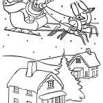 Printable Picture Of Santa Claus Inspiring 18 Free Printable Santa Sleigh Coloring Pages Blue History