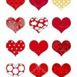 Printable Red Heart Inspired Printable Heart Graphics