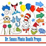 Printable Redskins Logo Inspiration Dr Seuss Inspired Printable Booth Props Includes 50 S