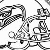 Printable Seahawks Logo Excellent Elegant Football Coloring Sheets Fvgiment