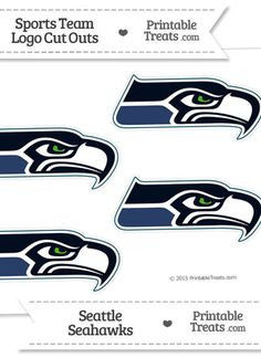 Printable Seahawks Logo Inspired 22 Best Seahawks Printable Images In 2018