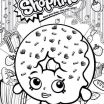 Printable Shopkins Coloring Pages Inspiring 15 Inspirational Donut Coloring Page