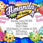 Printable Shopkins Pictures Best Of 91 Shopkins Birthday Invitations Printable Shopkins Printable