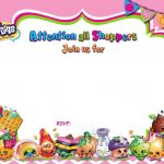 Printable Shopkins Pictures Unique Free Birthday Invitations Templates to Print Amazing Design Updated