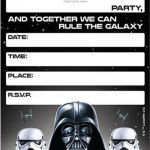 Printable Star Wars Masks Inspiration 010 Template Ideas Star Wars Fantastic Invitations Birthday Party