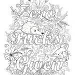 Printable Swear Word Coloring Pages Inspired Pin by Tamie White On Swear Words Adult Coloring Pages